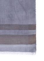 Ombré cashmere-modal-silk scarf