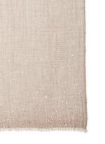 'Maxel' sequin virgin wool-silk-cashmere scarf