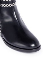 'Platef' eyelet leather Chelsea boots