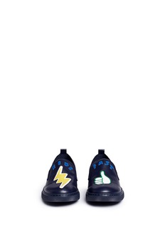 Stella Mccartney Kids 'Leo Ride Fast' kids skate slip-ons