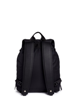 Back View - Click To Enlarge - Lanvin - Natural grain leather backpack