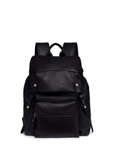 Lanvin Natural grain leather backpack