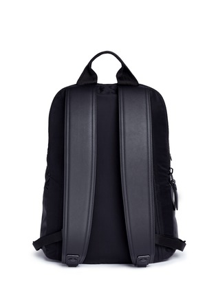Back View - Click To Enlarge - Lanvin - Spider embroidery nylon backpack