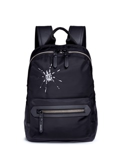 LanvinSpider embroidery nylon backpack
