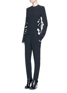 Haider AckermannCutout ruffle side jumpsuit