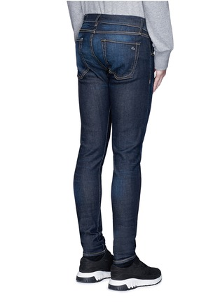 Back View - Click To Enlarge - rag & bone - 'Fit 1' dark wash skinny jeans