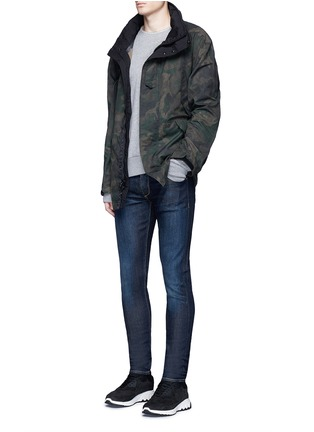 Figure View - Click To Enlarge - rag & bone - 'Fit 1' dark wash skinny jeans
