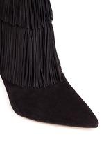 'Belinda' fringe suede boots