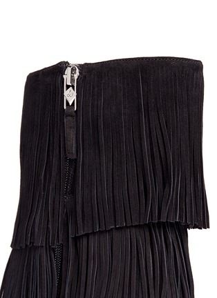 Detail View - Click To Enlarge - Sam Edelman - 'Belinda' fringe suede boots