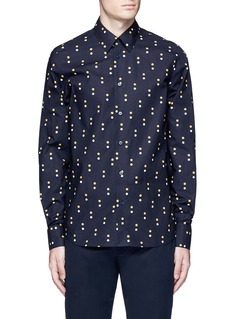Marni Dot print cotton shirt