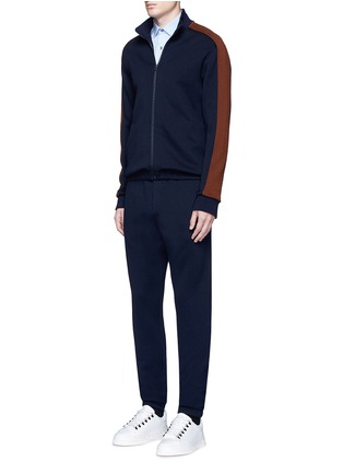 Figure View - Click To Enlarge - Marni - Contrast sleeve track jacket