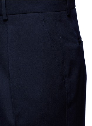 Detail View - Click To Enlarge - Marni - Pleated wool gabardine pants