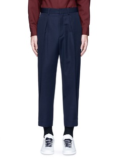 Marni Pleated wool gabardine pants