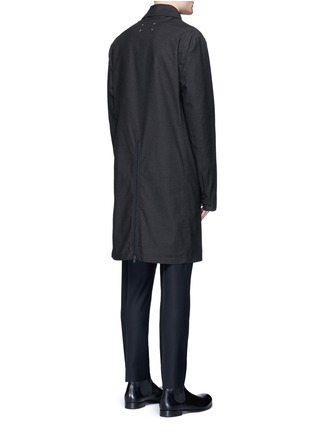 Maison Margiela - Zip vent car coat