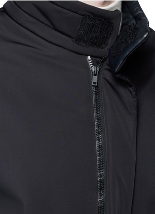 Detail View - Click To Enlarge - Maison Margiela - High neck puffer jacket