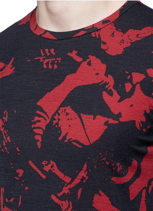 Detail View - Click To Enlarge - Maison Margiela - Concert print cotton T-shirt