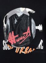Concert print hoodie