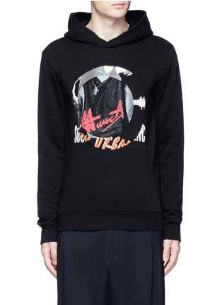 Main View - Click To Enlarge - Maison Margiela - Concert print hoodie