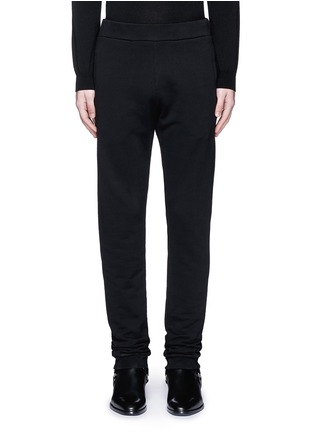 Main View - Click To Enlarge - Maison Margiela - Rib cuff jogging pants