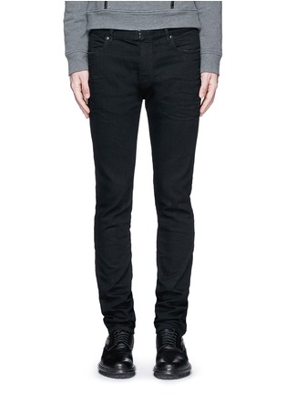 Detail View - Click To Enlarge - Maison Margiela - Raw denim slim fit jeans