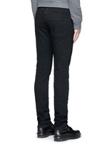 Raw denim slim fit jeans