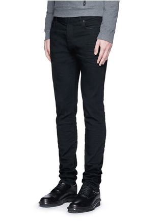 Front View - Click To Enlarge - Maison Margiela - Raw denim slim fit jeans