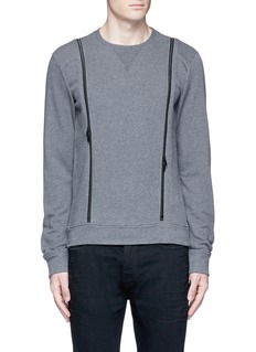 Maison Margiela Double zip sweatshirt