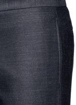 Drawstring wool pants