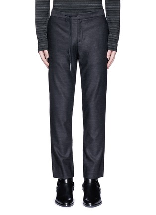 Main View - Click To Enlarge - Maison Margiela - Drawstring wool pants