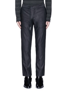 Maison Margiela Drawstring wool pants