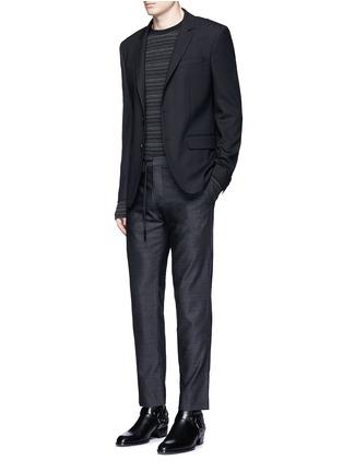 Figure View - Click To Enlarge - Maison Margiela - Drawstring wool pants