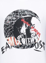 Concert print cotton T-shirt