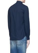 Garment dyed cotton shirt
