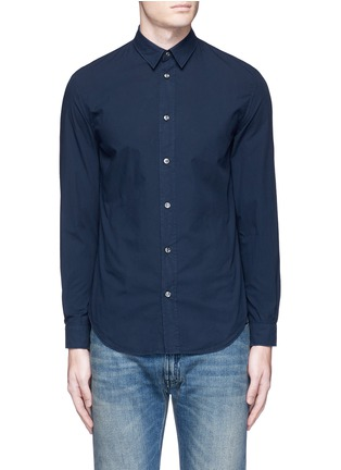 Main View - Click To Enlarge - Maison Margiela - Garment dyed cotton shirt