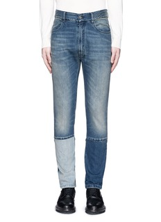 Maison Margiela Slim fit vintage wash panelled jeans