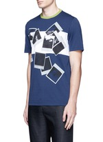 Polaroid print T-shirt