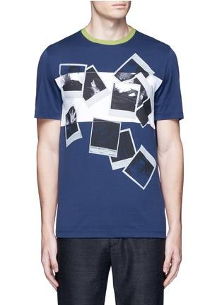 Main View - Click To Enlarge - Maison Margiela - Polaroid print T-shirt