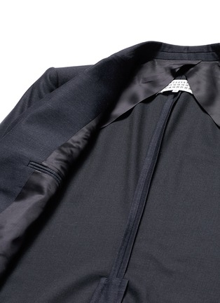 - Maison Margiela - Patch pocket wool blazer