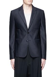 Maison MargielaPatch pocket wool blazer