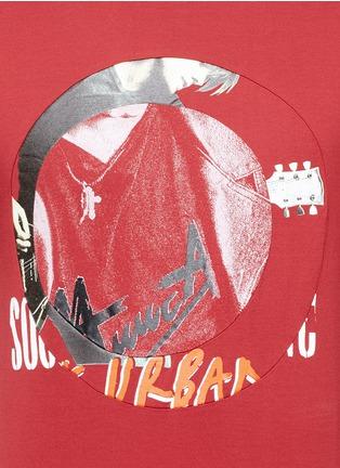 Detail View - Click To Enlarge - Maison Margiela - Concert print cotton T-shirt