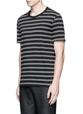 Detail View - Click To Enlarge - Maison Margiela - Stripe cotton T-shirt three-pack