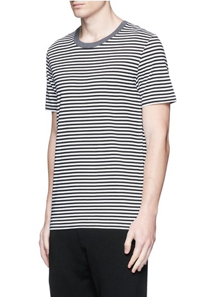 - Maison Margiela - Stripe cotton T-shirt three-pack