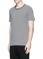 Stripe cotton T-shirt three-pack