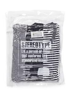 Maison MargielaStripe cotton T-shirt three-pack