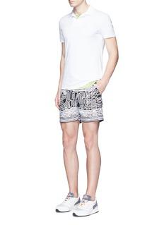 Orlebar Brown 'Massey Airtex' knit polo shirt