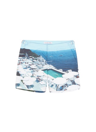 Main View - Click To Enlarge - Orlebar Brown - 'Bulldog Hulton Getty' pool print swim shorts