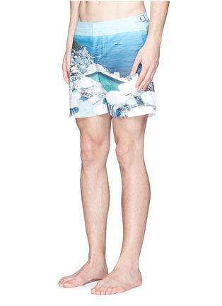Figure View - Click To Enlarge - Orlebar Brown - 'Bulldog Hulton Getty' pool print swim shorts