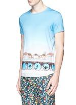'OB-T Hulton Getty' pool print T-shirt