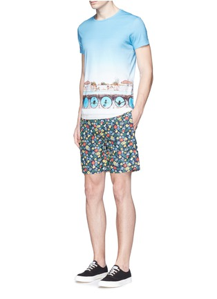 Figure View - Click To Enlarge - Orlebar Brown - 'OB-T Hulton Getty' pool print T-shirt
