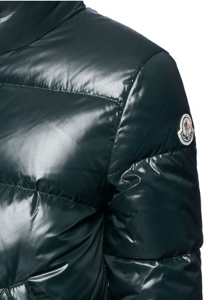 Detail View - Click To Enlarge - Moncler - 'Brethil' padded down jacket